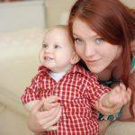 Frau mit Kind